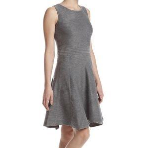 Catherine Malandrino fit & flare sweater dress